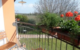 agiturismo la vigna camera doppia con balcone